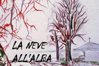 La neve all'alba, Basilio Petruzza. Dettaglio copertina. Edda Edizioni.