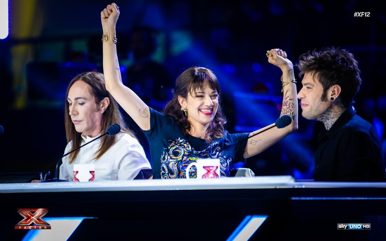 Asia Argento giudice di X-Factor